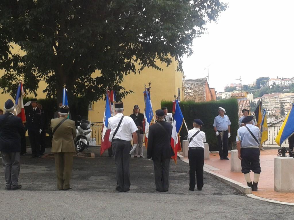 Cérémonie de commémoration du centenaire du début de la Grande Guerre, Place du Petit Puy