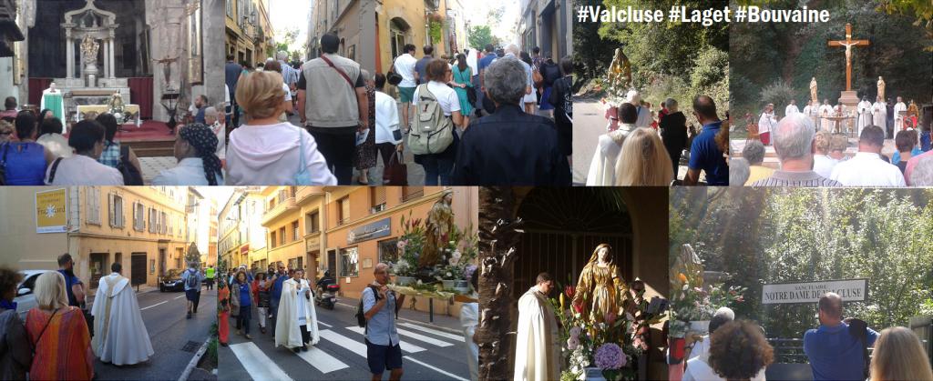 Pèlerinage du Sanctuaire de Notre Dame de Valcluse.