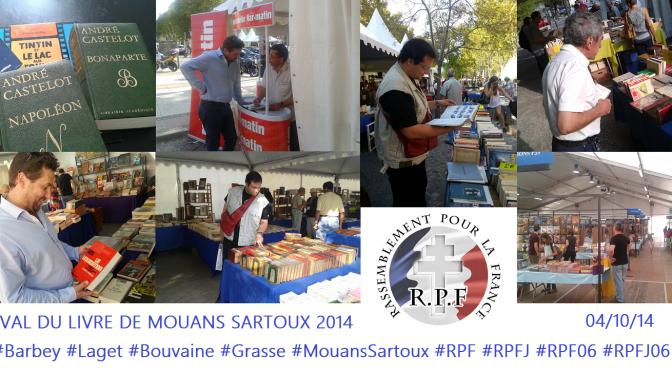 RPF 06 / RPFJ 06 – Sur Mouans Sartoux et Grasse – 04/10/14