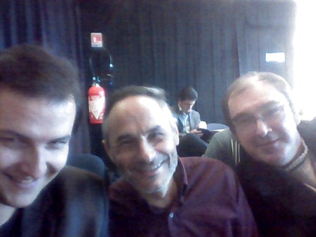 Jean-René LAGET, Dominique GIULIANI et Jean-François FIORELLA