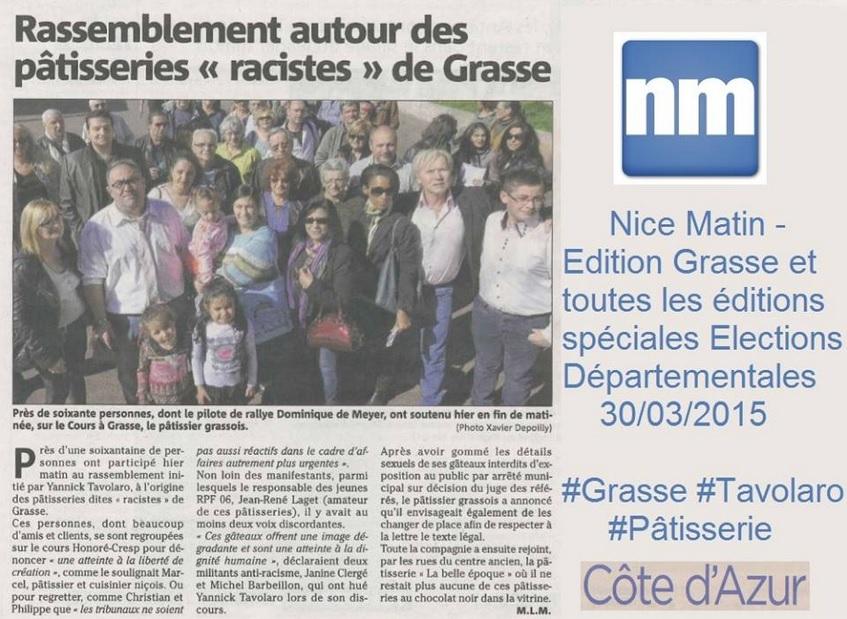 Article Nice Matin Côte d'Azur JRL