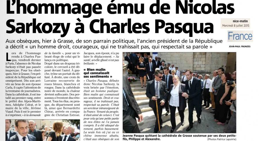 Article Nice Matin Obsèques Pasqua JRL